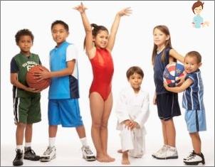 Care sport pentru a alege pentru copil pentru sănătate și caracterul copilului?