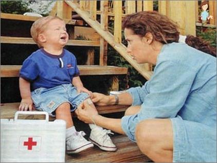 barn smerter i ben