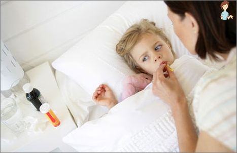 Chickenpox in children - as the disease begins?