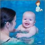 Настава бебе да пливају