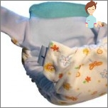 Reusable diaper at home