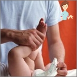 Wie eine Windel auf dem Baby setzen korrekt