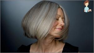 bromsa grått hår