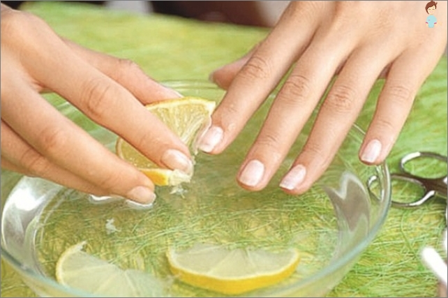 7 ways to get rid of yellow nails and bleach them