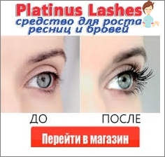 solution for the growth of eyelashes and eyebrows Platinus Lashes