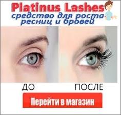 Lösung für das Wachstum der Wimpern und Augenbrauen Platinus Lashes