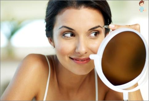 Wie Augenbrauen zu zupfen richtig?