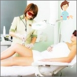 The procedure of laser hair removal