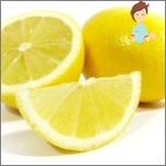 Traditional recipes against hair growth on the body - lemon