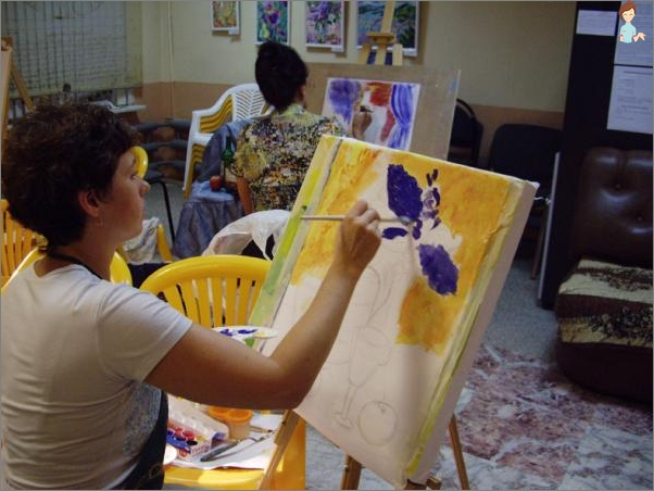 Business for housewives - the opening of the painting studio