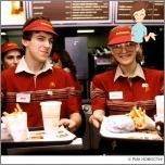 Work employee fast food restaurant
