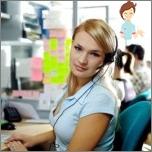 call-center operator's work
