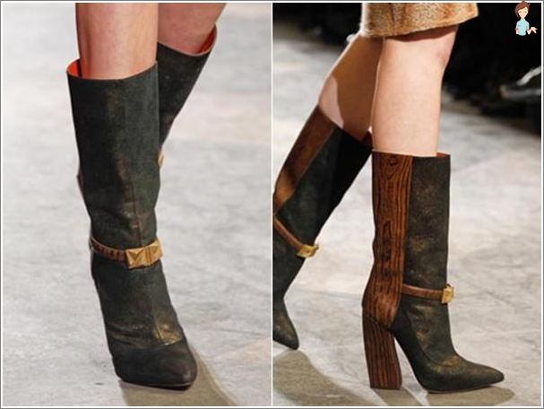 Women's fashion boots fall winter 2013-2014