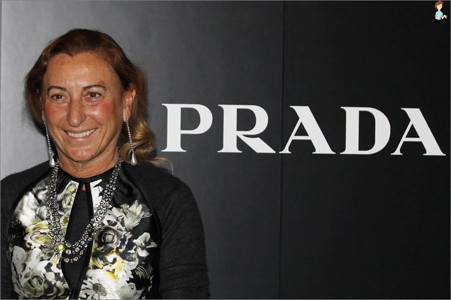The most famous female designers - Miuccia Prada