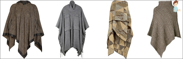 The most fashionable poncho for autumn 2013