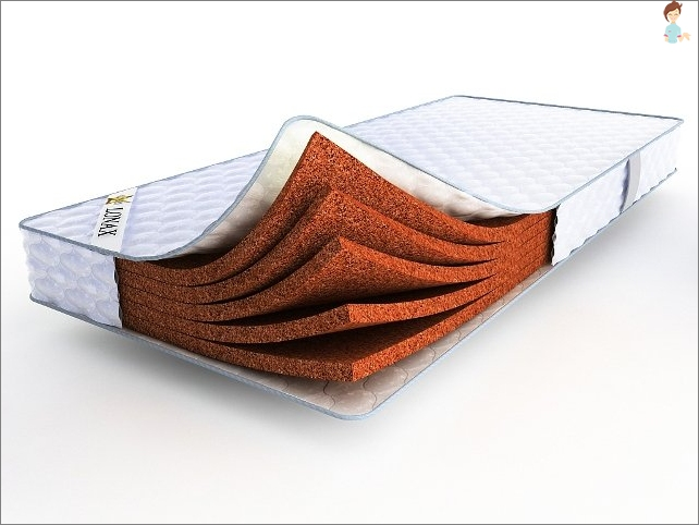 Orthopedic mattress with coconut coir