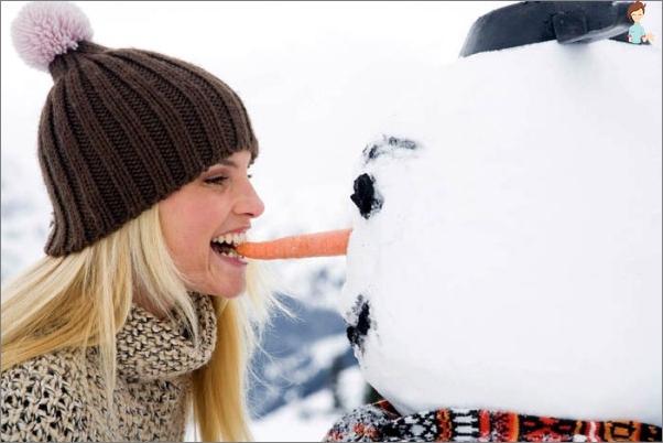 Tinkama mityba žiemą