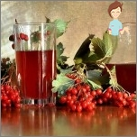 Most popular methods for treating migraines - Juice of viburnum