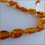 Migraine Prevention. Amber beads