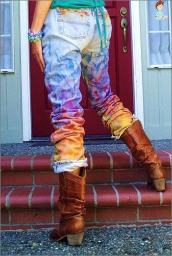 Vi forlenge levetiden på din favoritt klær: jeans lære å male selv