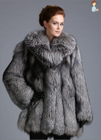 Kailiniai iš lapės prabangus fashionistas