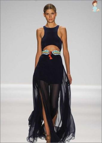 Kaip padaryti, kad madingas etninis stilius suknelė?