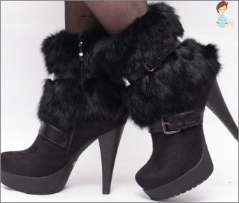 Boots with fur outside: how to choose and wear them correctly