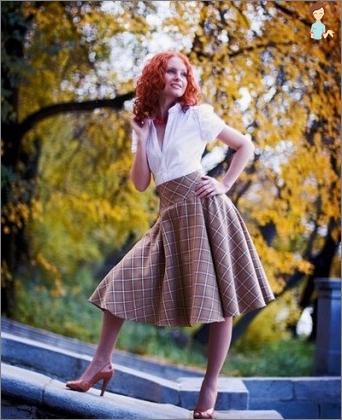 Skirt polusolntse: what to wear it