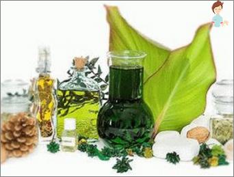 Medisinsk maske med urter