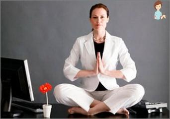 Wie um zu meditieren