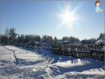 Liaudies simboliais žiemą