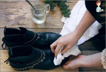 fjerne salt fra sko