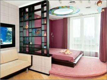 """""""Skyrius teritorija"""": kaip į zoną Studija svetainė ir miegamasis?"""