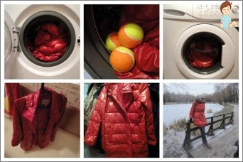 Washing down jackets: the rules, methods, tips