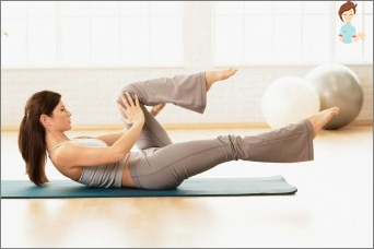 Exercise after childbirth: strengthening the abdominal muscles and reduce weight