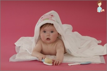 Proper care of the baby's skin will prevent the appearance of crusts on the head