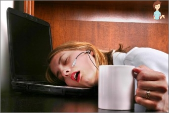 How to get rid of drowsiness and put the child?