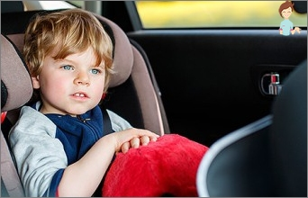 Rocking the child in the car: what to do?