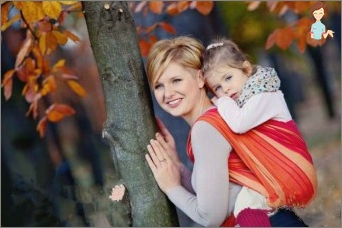 Sling-scarf - a true helper of young mothers