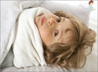 Herpes sore throat in children