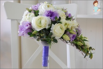The framework for a bouquet with their hands: easy and inexpensive