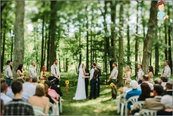 How to organize and conduct a wedding in the country