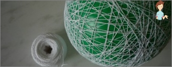 The ball of yarn - a fun decoration for the home