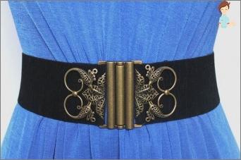 The original belt dress