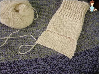 Knitting with knitting needles