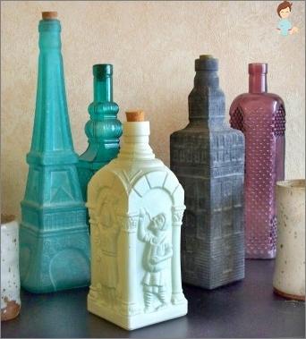 Wie eine Glasflasche zu dekorieren