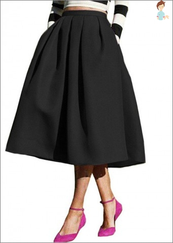 Skirt-chetyrehklinka - how to cut out and sew?