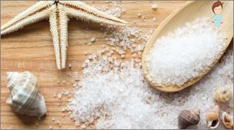 كيفية جعل الملح الملون؟