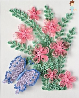 Quilling: creating masterpieces of paper
