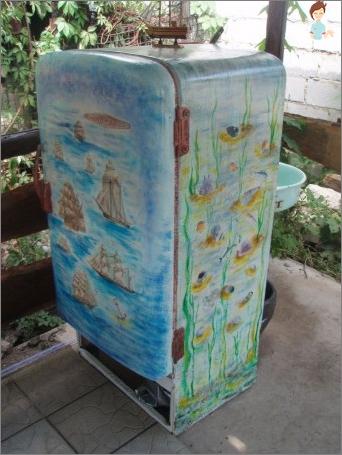 refrigerator Decoupage
